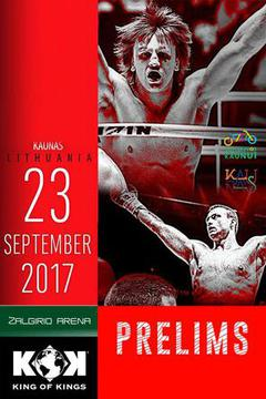 Fightbox KOK World Series in Kaunas: Prelims