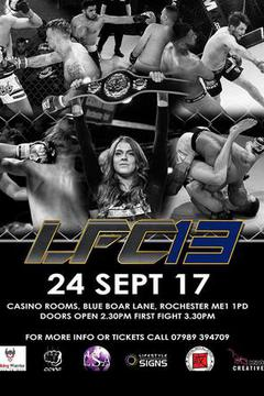 Lion Fighting Championships: LFC 13 (UK Only)
