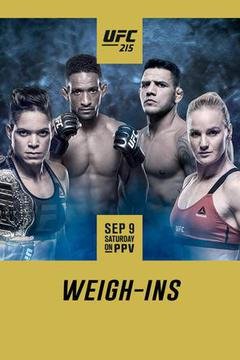 UFC 215: Weigh-In