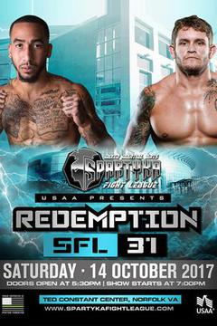"Spartyka Fight League - SFL 31 ""Redemption"""