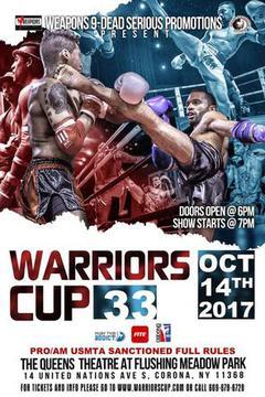 #3: Warriors Cup XXXIII