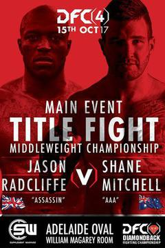 Diamondback Fighting Championship 4 - Double Title Fight Night!