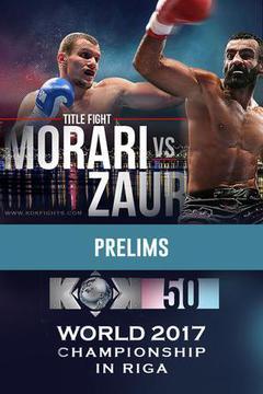 Fightbox KOK 50 World Series in Riga: Prelims