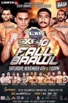 CXF 10: Fall Brawl