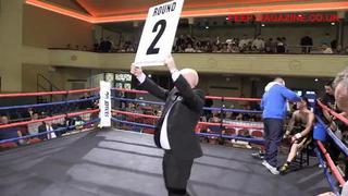 Glenn Foot Vs Nathan Hardy/ Pro Boxing / Peep Magazine