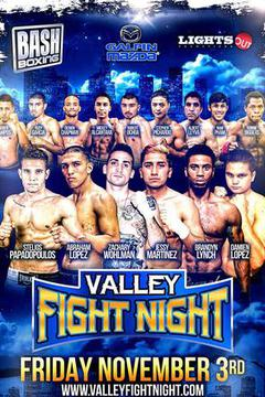 Valley Fight Night Nov 3rd