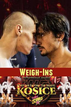 W5: Fortune Favors The Brave Weigh Ins