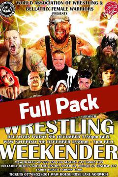 Wrestling Weekender: Full Pack (Dec. 8-9)