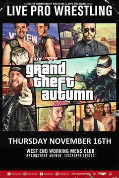 HOPE Wrestling presents Grand Theft Autumn 2017