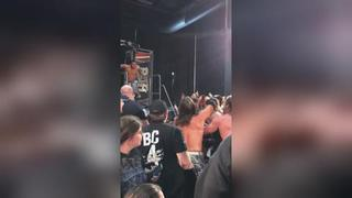 Matt Jackson Stage Dive - Global Wars Buffalo
