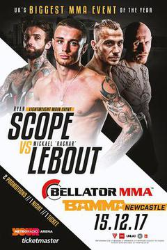 BAMMA 33 Ryan Scope vs Mickael Lebout