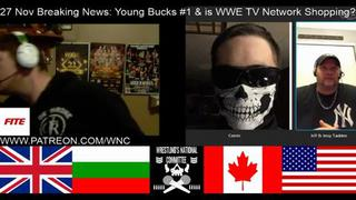 Breaking News Nov 27 Wwe Shopping For New Network