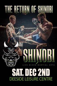 #3: Shinobi MMA Fighting Championships: Shinobi War 11