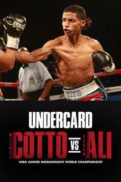 #1: Miguel COTTO vs. Sadam ALI Caguas: Undercard