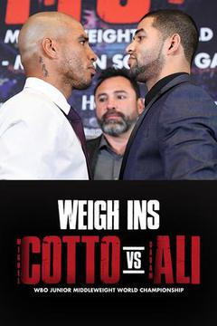 Miguel COTTO vs. Sadam ALI Caguas: Weigh-In