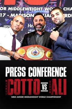 Miguel COTTO vs. Sadam ALI Caguas: Press Conference