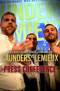 #1: Billy JOE SAUNDERS vs. David LEMIEUX: Press Conference