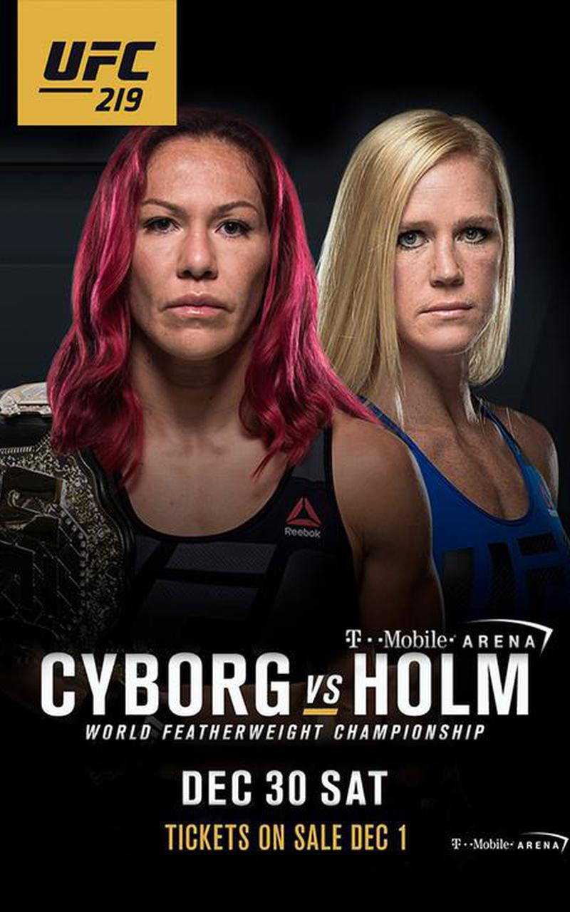 ▷ UFC 219: Cyborg vs. Holm PPV...