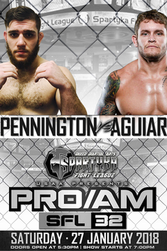 Spartyka Fight League - SFL 32 Pennington vs Aguiar