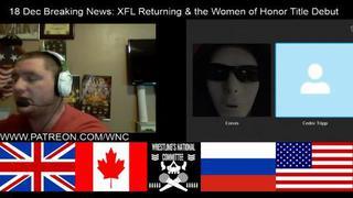 Breaking News 18 Dec Xfl Returning