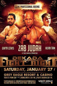 Dekada Fight Night with Zab Judah