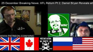 Breaking News 25 Dec  Xfl Pt 2 & Daniel Bryan Reveals All