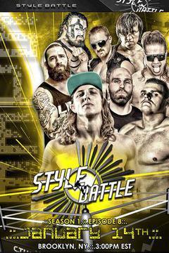 Style Battle Wrestling Season 1 Episode 8