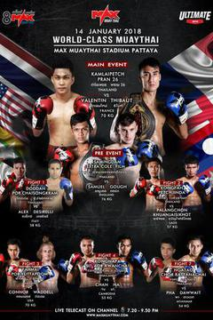 #3: MAX MUAY THAI: January 14th
