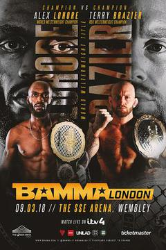 BAMMA 34: Alex Lohore vs. Terry Brazier