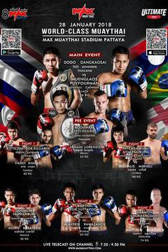 #2: MAX MUAY THAI: January 28th