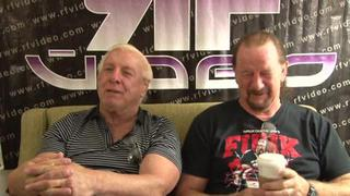 Preview Of Face Off With Terry Funk And Ric FlairShoot Interview