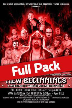 Wrestling Weekender: Full Pack (Feb. 9-10)