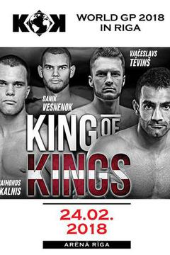 Fightbox KOK 54 GP in Riga: Prelims