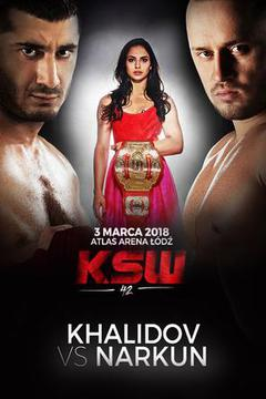 KSW 42 - Khalidov vs Narkun