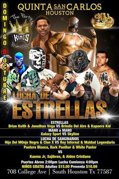 Houston Lucha Showdown 2- Lucha Libre Internacional