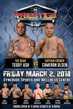 Prestige FC 9 - Teddy Ash vs. Cameron Olson