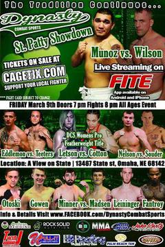 Dynasty Combat Sports 40: St. Patty Showdown