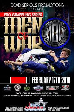 Professional Grappling Series: Men of War