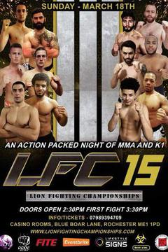 Lion Fighting Championships: LFC 15