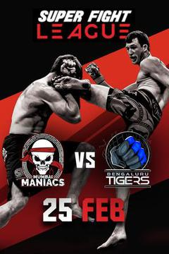 Super Fight League: Heros vs Veerans Feb 25Th