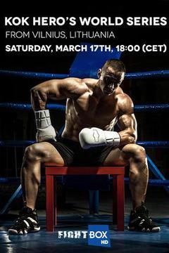 FightBOX KOK Hero's World Series in Vilnius