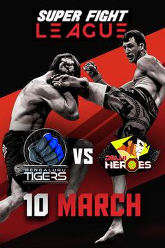 Super Fight League Tigers vs Heros (Semi-Finals)