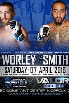 Spartyka Fight League 33 - Will Thorley vs Imani Smith
