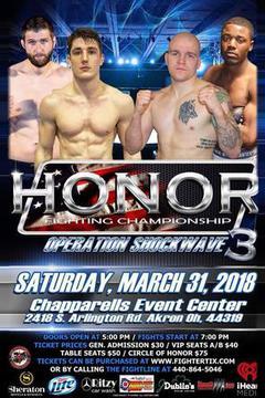 Honor Fighting Championship 3
