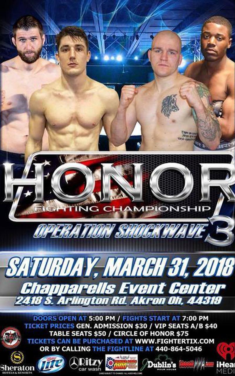 Honor Fighting Championship 3 Screenshot