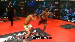 Super Fight League: Warriors Vs. Heroes - Manas Vs. Abdul Ko
