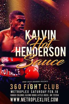 360 Fight Club 6 - Vance Garvey vs Kalvin Henderson