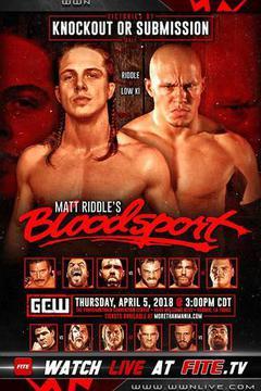 GCW Matt Riddle's Bloodsport