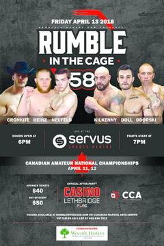 #2: Rumble in the Cage 58