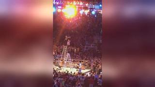 Jeff Hardy Insane Ladder Dive At Wrestlemania 33
